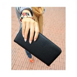 Tyylikäs pitkä naisten lompakko