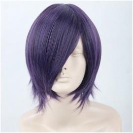 Tokyo Ghoul - Touka Kirishima lyhyt violetti peruukki