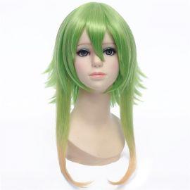 Vocaloid - Gumi keskipitkä vihreä peruukki