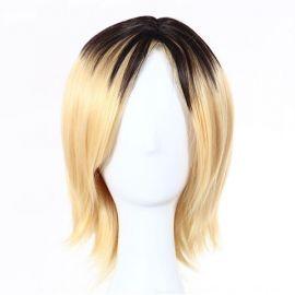 Haikyuu!! - Kenma Kozume keskipitkä vaalea peruukki