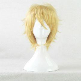 Cosplay lyhyt vaalea peruukki