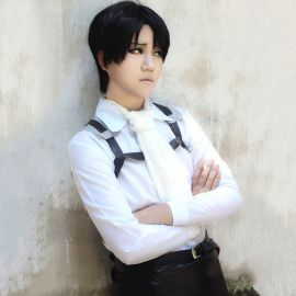 Shingeki no Kyojin - Attack on Titan - Levi Rivaille peruukki