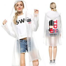 Women's british pattern raincoat